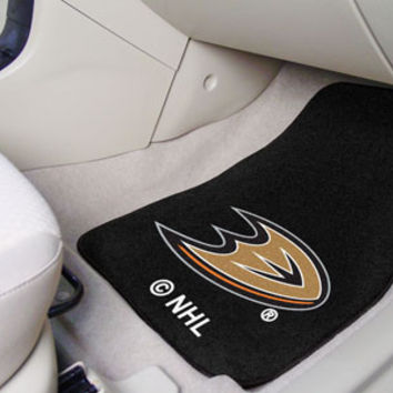 NHL Team Car Mats 2 Piece Front