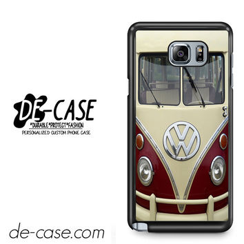 VW Volkswagen Bus For Samsung Galaxy Note 5 Case Phone Case Gift Present