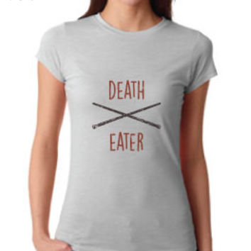 Harry Potter Inspired Clothing - Vintage Death Eater Crew Neck - Ladies