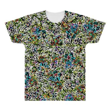 multicolored abstract pattern All Over Men's T-shirt
