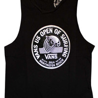 Shop Sticker Logo Muscle Tank by US Open 2014 (#VN-0ZHI) on Jack's Surfboards