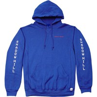 BLUE EMERGENCY WARNING HOODIE