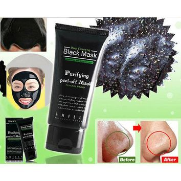 Deep Cleansing Purifying Peel Off Mud Blackhead Face Mask + Free Gift Random Choker