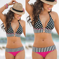 Womens New Sexy Swimwear Beach Boho Bandage Bikini Bra Set Swimsuit Bathing suit