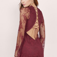 One Night Lace Dress $66
