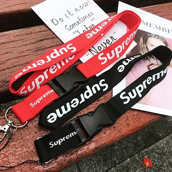 7cf39f6ba SUPREME CELL PHONE KEY CHAIN Lanyards