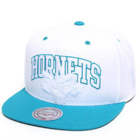 Charlotte Hornets Nba Hwc White And Tc Arch W/ Logo Snapback Hat