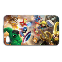 Lego Phone Case Marvel iPhone Case Cute Character iPod Case Funny iPhone Cover iPhone 4 iPhone 5 iPhone 4s iPhone 5s iPhone 5c iPod 4 iPod 5
