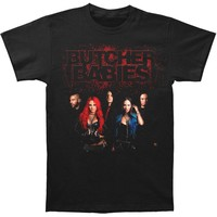 Butcher Babies Men's  Band Shot T-shirt Black