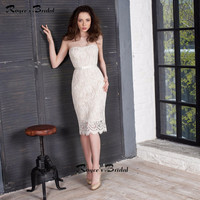 Elegant Light Champagne Cocktail Party Dresses Short Strapless Knee Length Special Occasion Dress Robe Cocktail 2016