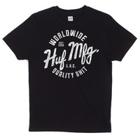 HUF - ANTIQUE TEE // BLACK