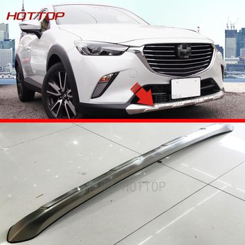 Stainless steel Front & Rear Bumper Skid Protector Guard  For Mazda CX-3  CX3 2015 2016