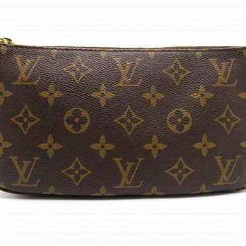 Louis Vuitton Monogram Pouch Brown N51980 4995