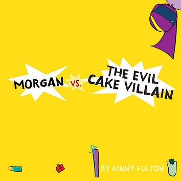 Evil Cake Villain Personalized Storybook - Soft Cover