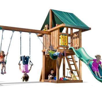 Playnation Circus Wooden Swing Set