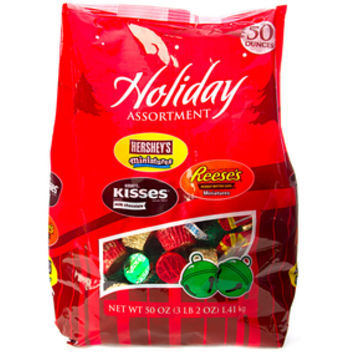 Hershey's Christmas Candy Assortment: 50-Ounce Bag