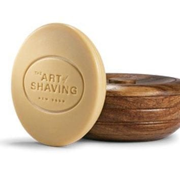 The Art of Shaving Unscented Shaving Soap with Wooden Bowl