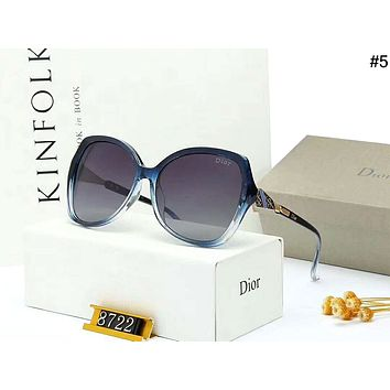 Dior personality wild female models driving polarized sunglasses #5