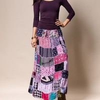 Gujarati Patchwork Skirt