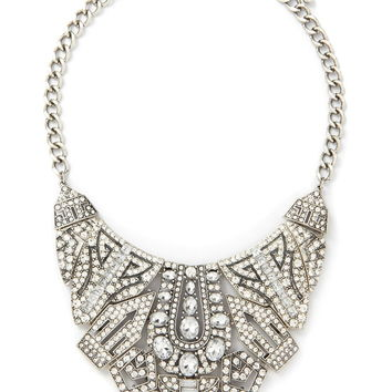 Art Deco Statement Necklace | Forever 21 - 1000168740