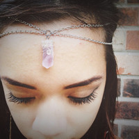 Amethyst Crown Chakra Headpiece