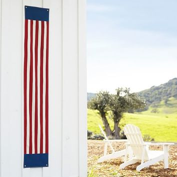 FOURTH OF JULY LONG STRIPE BANNER