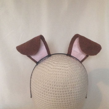 1 Puppy Dog Ears stand up birthday party favors headband hat filter Halloween costume invitation decor