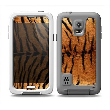 The Real Tiger Print Texture Skin Samsung Galaxy S5 frē LifeProof Case