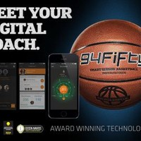 94Fifty Smart Sensor Basketball for iPhone and Android