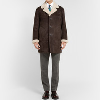 Burberry Prorsum - Oversized Shearling Coat | MR PORTER
