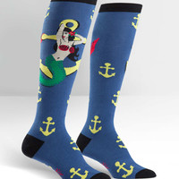 Hey Sailor Knee High Socks