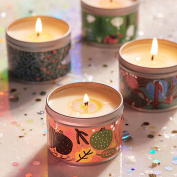 Artist Print Holiday Tin Candle - Urban Outfitters