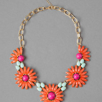 Cassat Floral Necklace