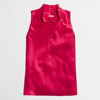 Factory Teagan ruffle popover - sleeveless - FactoryWomen's Shirts & Tops - J.Crew Factory