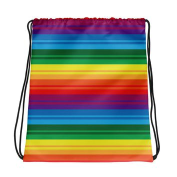 PRIDE, RAINBOW Drawstring bag