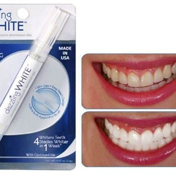 Teeth Whitening Pen Rotary Peroxide Gel Tooth Cleaning Bleaching Kit Dental Dazzling Teeth Whitening Pen Blanqueador Dental Tool