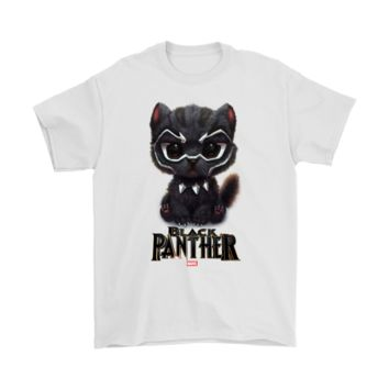 QIYIF Black Panther Or Black Pawther Super Cute Marvel Superhero Shirts