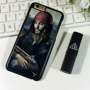 Johnny Depp Mona Lisa iPhone 6 Plus | 6S Plus Case Planetscase.com
