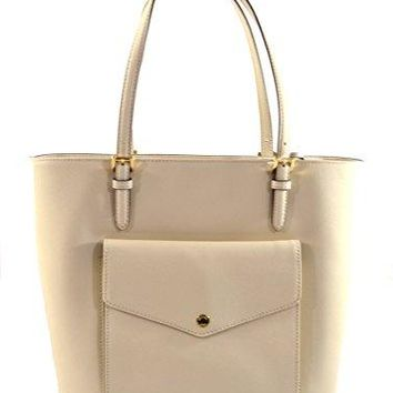 Michael Kors Jet Set Item Large Saffiano Leather Pocket Multifunciton Tote Bag Purse Handbag Michael Kors bag