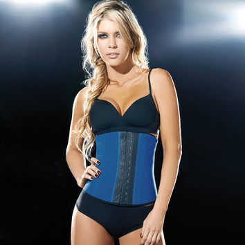 Body Waist Shaper Sexy Summer Steel Boned Latex Slim Corset [4965383876]