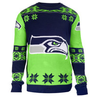 "Seattle Seahawks Official Men's NFL ""Big Logo"" Sweater"