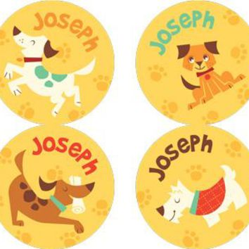 Dog Park Personalized Stickers