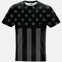 Tactical USA Flag Quick-Dry Jersey