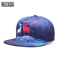 Brand NUZADA Snapback Exclusive Sales Quality Women Men Baseball Caps 5 Colos Printing Hip Hop Hats Bone Fashion Pattern Cap