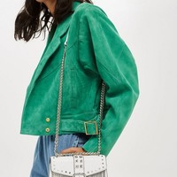 Fringe Studded Cross Body Bag - Bags & Wallets - Bags & Accessories