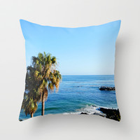 Paradise Throw Pillow by Susaleena | Society6