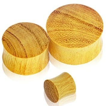Organic Jackfruit Wood Saddle Plug
