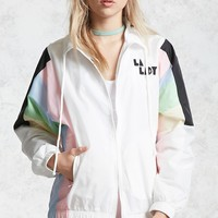 LA Lady Colorblocked Windbreaker