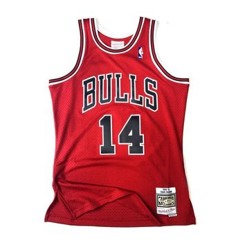 Mitchell & Ness Chicago Bulls 1990-91 Craig Hodges Swingman Jersey