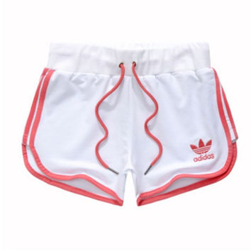 "shosouvenir  Adidas "" Like Fashion Print Exercise Fitness Gym Yoga Running Shorts"